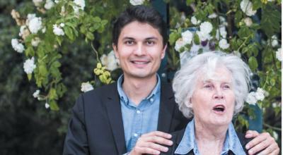 Gilles Vanderpooten et Christiane Hessel - Crédits : L.Hazgui
