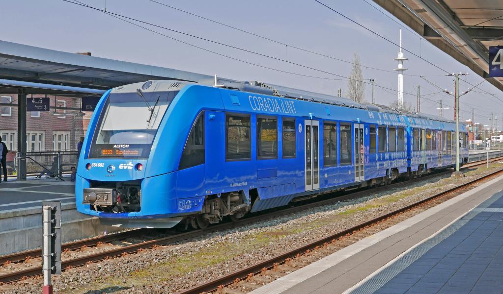Le Coradia iLint, fabriqué par Alstom, est un train de passagers alimenté par une pile à hydrogène, qui produit de l'énergie électrique pour la traction (Crédit Pixabay)