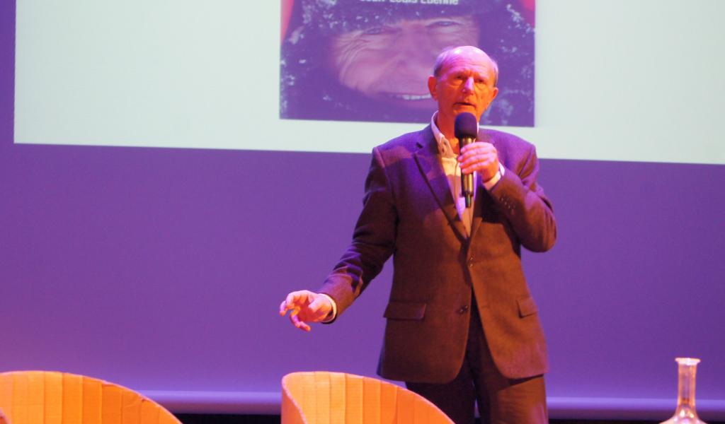 Jean-Louis Etienne, explorateur-écologiste, donnera une conférence, le 11 octobre prochain, à Brest. Un événement organisé par Harmonie mutuelle et Sans Transition ! Crédits : FD/LRMP