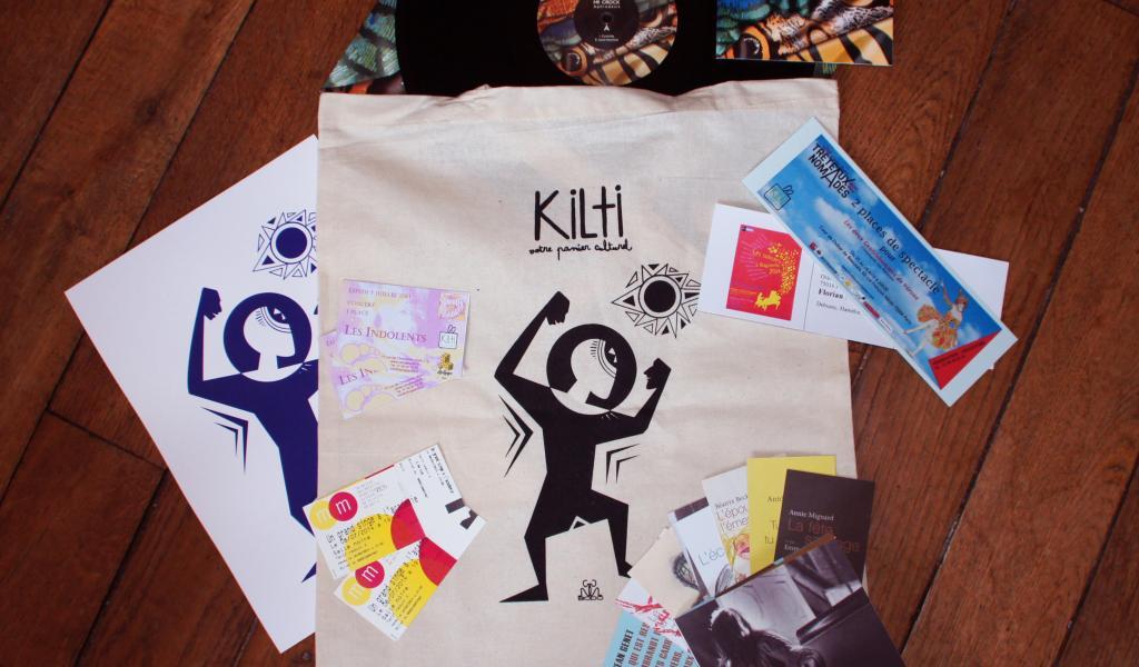 Les sac Kilti sont remplis de denrées culturelles - DR