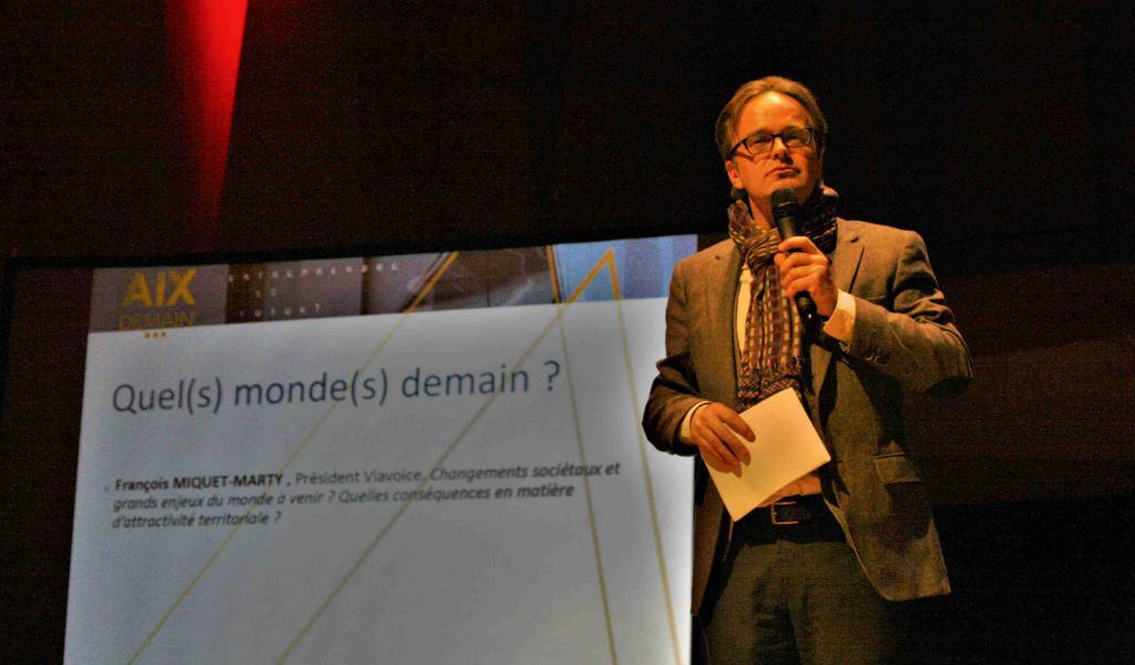 François Miquet-Marty, président de l'institut Viavoice - FD / LMDP