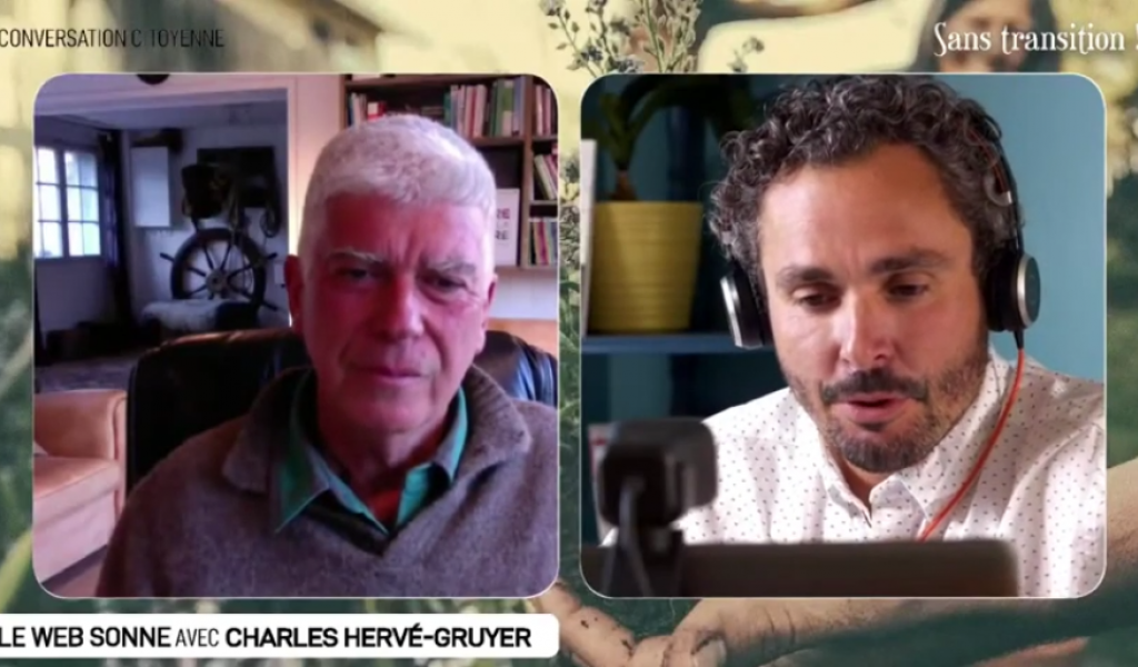 Le Web Sonne avec Charles Hervé-Gruyer